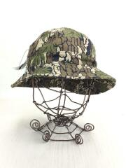 Camouflage Canvas Bell Hat/ハット/コットン/KHK/カモフラ