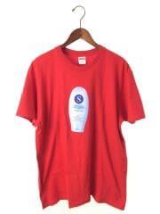 19AW/CREAM TEE/Tシャツ/L/コットン/RED