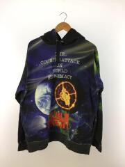 パーカー/L/コットン/マルチカラー/18SS/Public Enemy Hooded SweatShirt