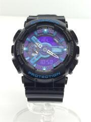 GA-110HC/クォーツ腕時計/アナログ/ラバー/PUP