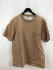 DOTSUME POCKET TEE/Tシャツ/XL/コットン/CML/JM5870