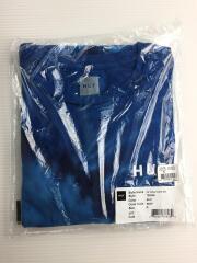 Tシャツ/M/コットン/BLU/ブルー/青