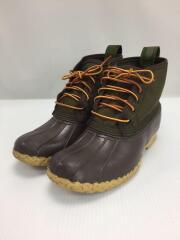 レースアップブーツ/UK7/GRN/bean boots/リミデットエディション/中敷きセット