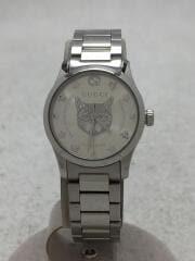 クォーツ腕時計/アナログ/ステンレス/SLV/SLV/猫 G-TIMELESS/20SS/YA126595