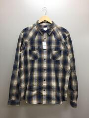 長袖シャツ/L/コットン/マルチカラー/チェック/グッドシャツ/52251FA11