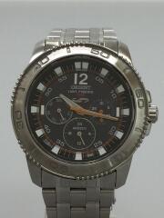 LIGHT-POWERED4000/クォーツ腕時計/アナログ/--/シルバー