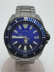 プロスペック/AIR DIVERS/自動巻腕時計/アナログ/ステンレス/ブルー/4R35-01X0