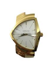 60周年記念モデル/ベンチュラ/クォーツ腕時計/アナログ/チタン/ゴールト/GLD/H243010