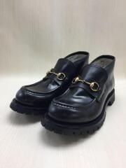 Leather Horsebit Loafer/ローファー/UK10/ブラック/BLK/レザー/545280