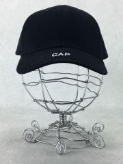 17AW/CAP刺繍/6パネルキャップ/フリー/コットン/BLK/MF17AC3