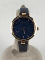 KSW1157/クォーツ腕時計/アナログ/--/NVY/NVY