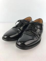 ドレスシューズ/Officer Shoe/オフィサーシュー/UK6/BLK/レザー/1384B/革靴