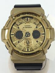 GA-200GD-9B2JF/クォーツ腕時計・G-SHOCK/デジアナ/GLD/ジーショック