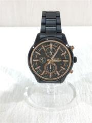 クォーツ腕時計/アナログ/ステンレス/BLK/BLK/7T92-0RH0