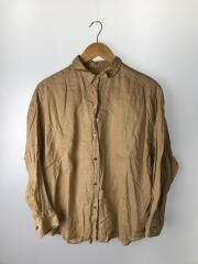 リネンビックシャツ/20050200201010/長袖シャツ/FREE/リネン/BRW