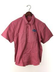 20aw/Studded Patch S/S Work Shirt/半袖シャツ/S/コットン/PNK