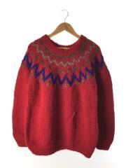 ×TAOW/193904-SL97/セーター(厚手)/2/ウール/RED