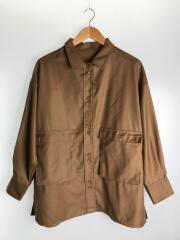 20年製/CPZ1002104A00ビッグポケットデザインシャツ/長袖シャツ/FREE/ポリエステル