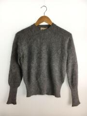 LIA ANGORA/PAW12/セーター(薄手)/XS/アンゴラ/GRY