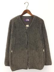 Mountain Fleece Cardigan/NA2551/カーディガン(厚手/S/ポリエステル/GRY/