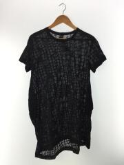 ワイズ/半袖ワンピース/2/コットン/BLK/ドット