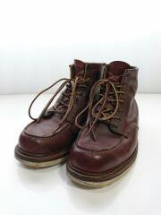 1907/ブーツ/US8/BRW/ヒール減り有