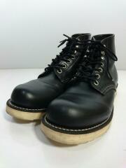 8165/ブーツ/US6.5/BLK// CLASSIC PLAIN TOE  プレーントゥ