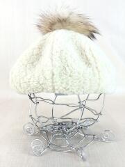 ベレー帽/57cm/アクリル/IVO/E2505-451-02