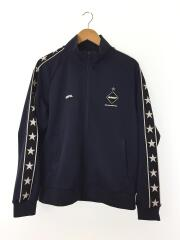 18SS/STAR LINE TRAINING JACKET/ジャージ/L/ポリエステル/NVY/FCRB-180