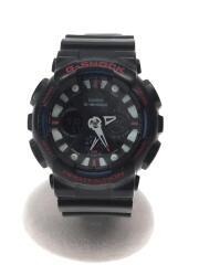 クォーツ腕時計・G-SHOCK/デジアナ/ブラック/GA-120TR-1AJF/使用感有り