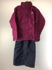 Helly Rain Suit/レインスーツ/セットアップ/M/ナイロン/パープル/H0E11900/タグ付
