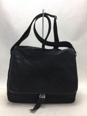 ショルダーバッグ/ナイロン/ブラック/V166/斜め掛け/メンズ/鞄/使用感有り