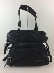 ショルダーバッグ/ナイロン/ブラック/鞄/斜め掛け/メッセンジャーバッグ