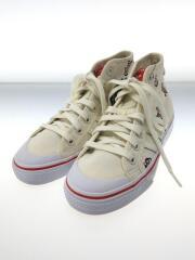 adidas NIZZA HI SHOES キッズ靴 22.5cm スニーカー コットン クリーム