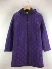 キルティングジャケット M ポリエステル 紫 8064-88450