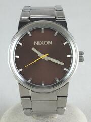 クォーツ腕時計 アナログ シルバー シルバー THE CANNON