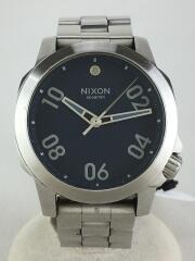 クォーツ腕時計 アナログ シルバー シルバー THE RANGER-40