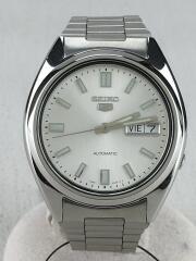自動巻腕時計 アナログ シルバー 7S26-0480