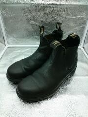 サイドゴアブーツ/US9/ブラック/レザー/00465