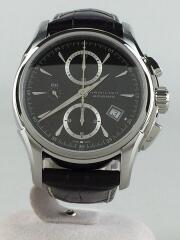 自動巻腕時計/アナログ/レザー/ブラック/ブラウン/H326160