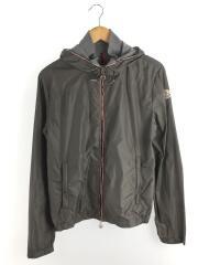 ナイロンジャケット/S/ナイロン/グレー/URVILLE/右ポケット、襟汚れ有り