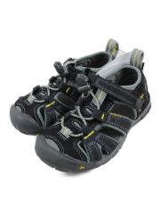 シーキャンプ2CNX/キッズ靴/16cm/サンダル/GRY