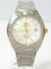 クォーツ腕時計/アナログ/ステンレス/SLV/SLV/UN59-C3-CA