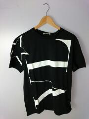 20AW/VLTNロゴ/Tシャツ/L/コットン/BLK/uv3mg04w6lv