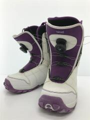 スノーボードブーツ/25cm/BOA/WHT