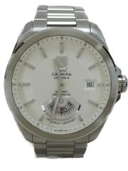 タグホイヤー/WAV511B.BA0900/自動巻腕時計・グランドカレラRS/アナログ/ホワイト/grand carrera