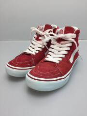 オールドスクールハイカットスニーカー/23cm/RED