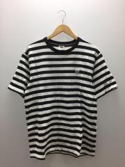 Tシャツ/--/コットン/WHT/ボーダー