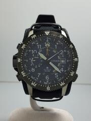 ソーラー腕時計/アナログ/ラバー