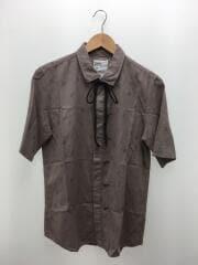 半袖シャツ/2/コットン/BRW